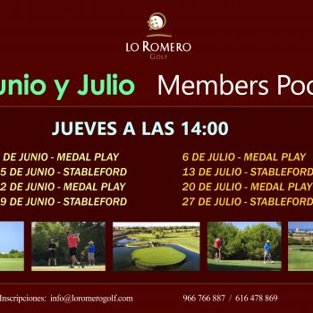 Members Pool Junio y Julio ESP